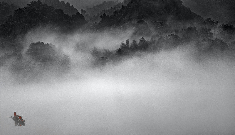 Misty River #01