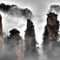 Morning in Zhangjiajie