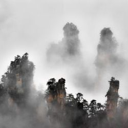 Morning Zhangjiajie