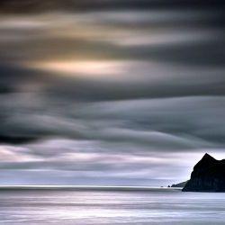 Moody Landscape Faroe Island