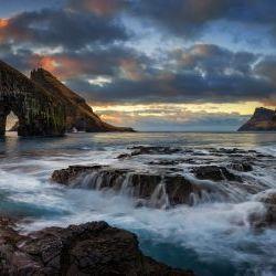 Landscape  in Faroe Island